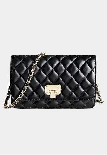 Trendyshop black Elegant Two Way Shoulder Bag C3DBDAC7631623GS_1