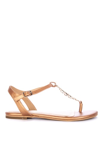 da7019087610 Shop AEROSOLES Short Stack Thong Sandals Online on ZALORA Philippines