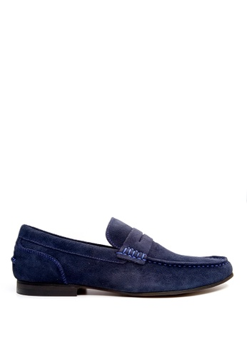 Kenneth Cole New York navy CRESPO LOAFER - Casual Loafer 21113SH669C270GS_1