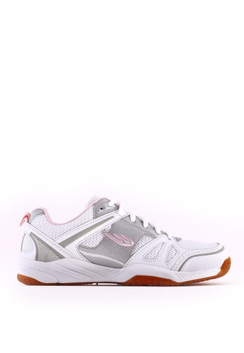 World Balance white Flash Court L Sports Shoes CB827SH0CDE85AGS_1