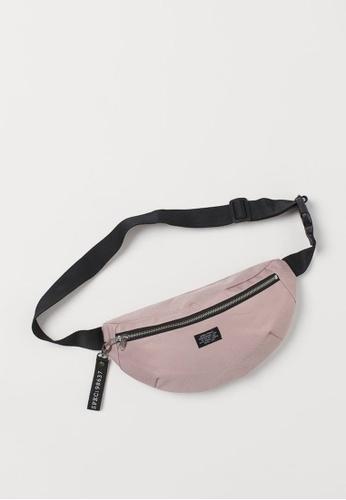 H&M pink Waist Bag 33415AC9FADEA8GS_1