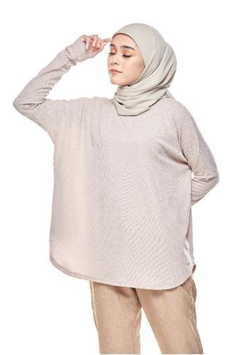 Kaen.co pink Kaen.co Naise Knit Top in Soft Pink Ironless Dress Shirt 14382AA80654CFGS_1