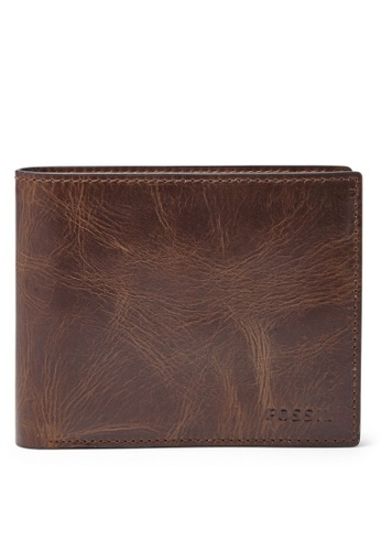 Fossil brown Fossil Coin Bifold ML3687201 Wallet FO164AC90ISVMY_1