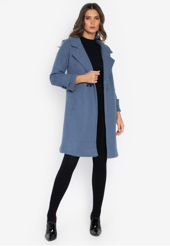Well Suited blue Loose Trench F3EA4AAC845F36GS_1