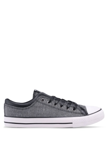 North Star black Laced Up Sneakers 45E85SHA41AB2FGS_1