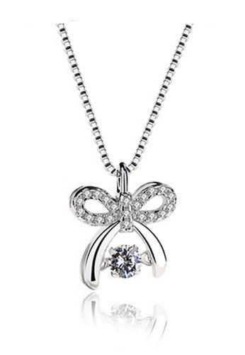 LYCKA silver LPP88038 S925 Silver Necklace BC660ACFCA8E9FGS_1
