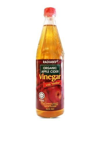"Radiant 【Radiant】Organic Apple Cider Vinegar with ""Mother"" - 750ml 922ADES7DDBA6DGS_1"