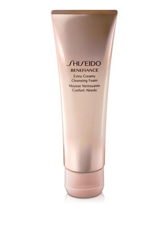 Shiseido gold Benefiance Extra Creamy Cleansing Foam, 125ml 7B533BEE05D2F0GS_1
