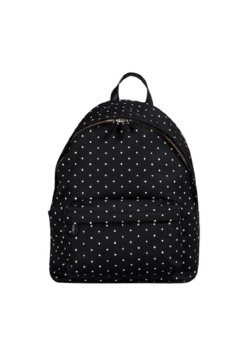 GIVENCHY black GIVENCHY CROSS PRINT BACKPACK B7E1BAC6234B56GS_1