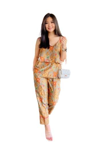 Flike Batik brown Batik Flike Store Dress Wanita Dress Sepan Atelier  F4E14AA92741D8GS 1 4034fd65f5