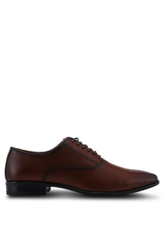 e4332e392ab ALDO brown Ocilawet Oxford Shoes 1DB3ESHF26D80FGS 1