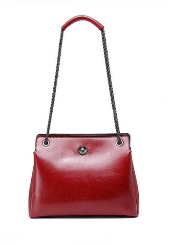 Twenty Eight Shoes red VANSA Fashion Chain Portable Crossbody Bag VBW-Cb6601 2C0D9ACBB0643AGS_1