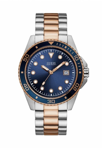 molti stili pregevole fattura vendibile Buy Guess Watch Guess Rose Gold and Silver Stainless Steel Watch ...