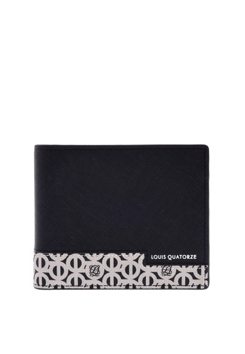 Louis Quatorze black Men's Bifold Wallet SL3NH71BL LO321AC0GS60SG_1