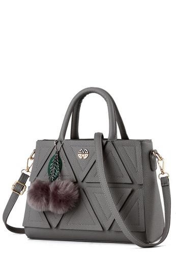 Tcwk Grey Korea Style Las Handbag Tc258ac0rq8jmy 1