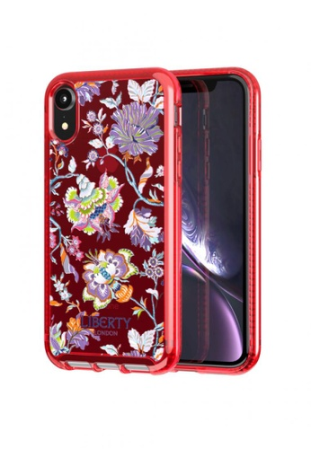 TECH 21 red Pure Clear Christelle Liberty Phone Case - iPhone XR 74C48ACE6E0649GS_1