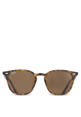 Ray-Ban 褐色 RB4258F Sunglasses RA896GL12UUHMY_1