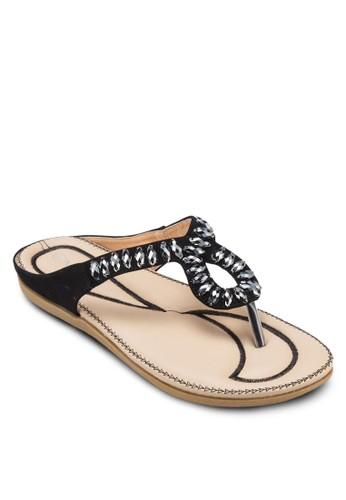 串珠esprit台灣網頁夾腳涼鞋, 女鞋, 涼鞋