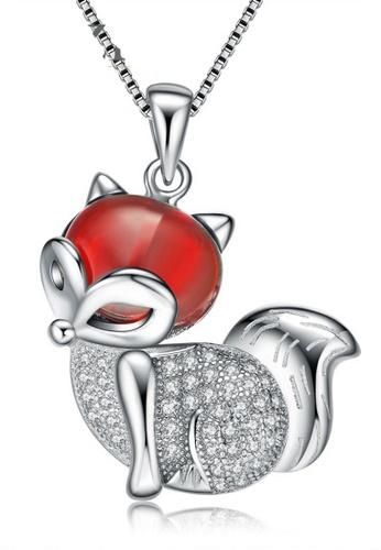 LYCKA silver LPP88112 S925 Silver Necklace 8443DAC4104FDCGS_1