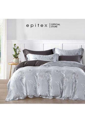 Epitex Epitex TP1141 Tencel 1000TC Printed Bedsheet - Bedset - Bedding Set (w quilt cover) EB760HL96BD739GS_1