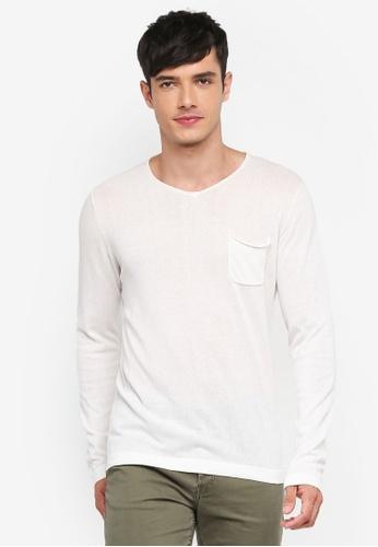 Jack & Jones 黃色 長袖針織T恤 BE482AA50C8C5EGS_1
