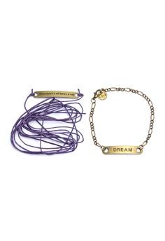 Will and Dream Wrap Bracelet Set