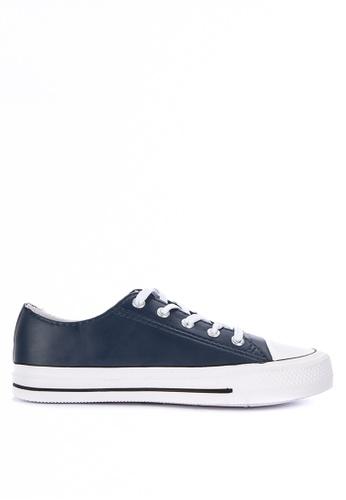 H2Ocean navy Casanova Lace up Sneakers F50C0SHFFEB69BGS_1
