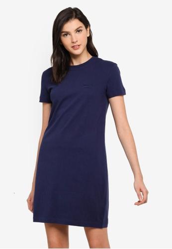 Superdry navy Ol T-Shirt Dress CABCFAA0175A1DGS_1