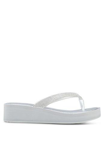ALDO silver Yberani Beach Sandals E6326SH8244C98GS 1