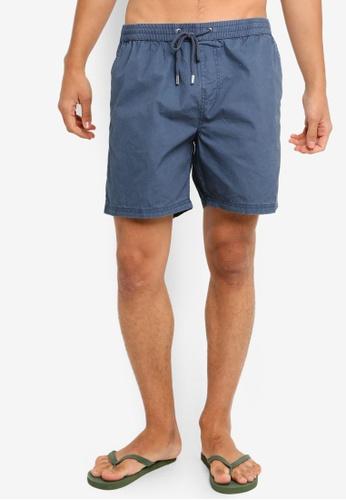 Cotton On 海軍藍色 抽繩短褲 9E997AA0E953F1GS_1