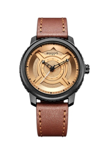 Assassin's Time brown Assassin's Time FUTURE Brown Leather 3B868ACE3A7CAAGS_1