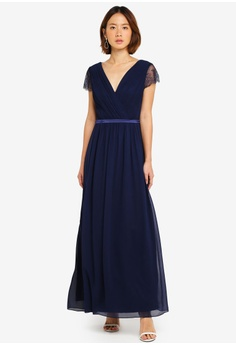 a8a30d4283 56% OFF Dorothy Perkins Showcase Navy Athena Maxi Dress S  199.00 NOW S   86.90 Sizes 6 8 12