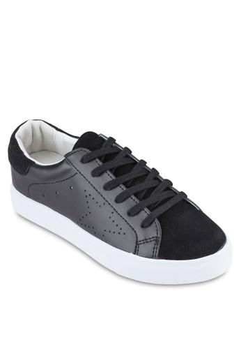 Crystal Korea Fzalora 心得 pttashion 沖孔材質拼接運動鞋, 女鞋, 休閒鞋