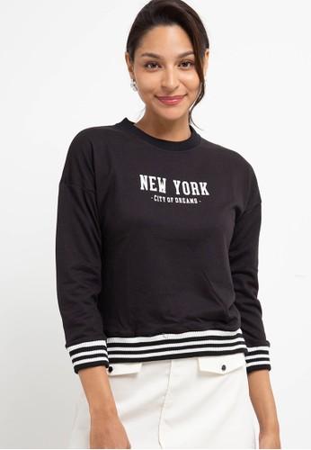 Expand black Tayla T-Shirt A3CD0AA9073382GS_1