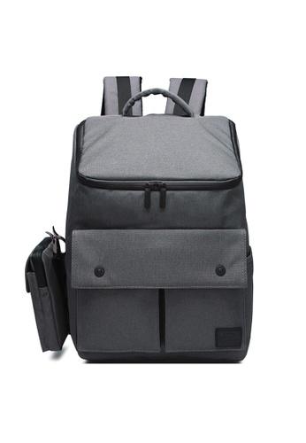 The Dude grey Dreamer Backpack TH373AC49NBYHK_1