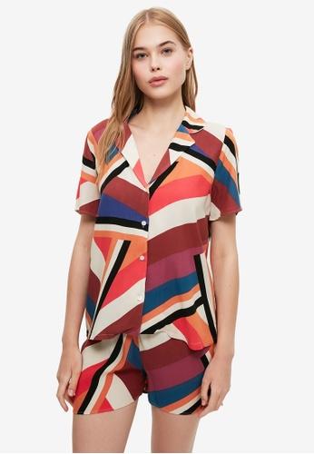 Trendyol multi Colorblock Pyjama Set E6FECAAA804938GS_1