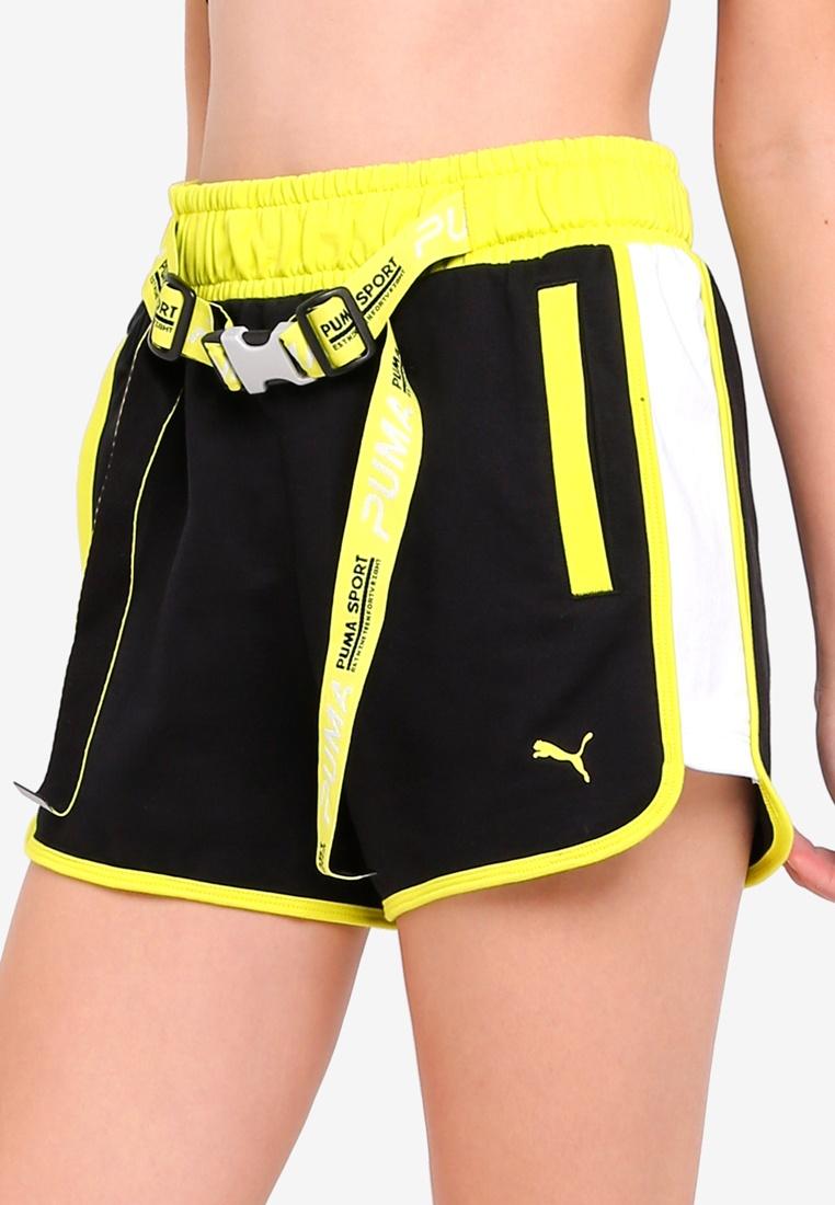 Puma Xtreme Highwaist Shorts Tape Black Sportstyle Prime
