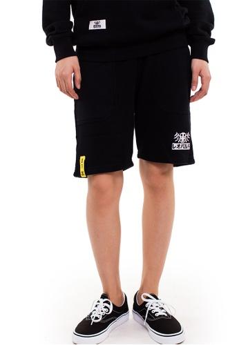 Reoparudo black RPD Brand Logo Reflective Shorts (Black) RE413AA0F4BTSG_1