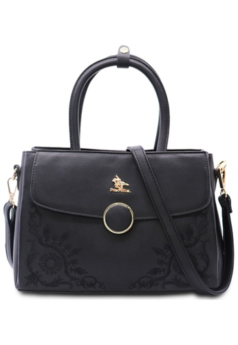 POLO HILL black POLO HILL Frieda Ladies Shoulder Bag 0D10CACB60B14EGS_1