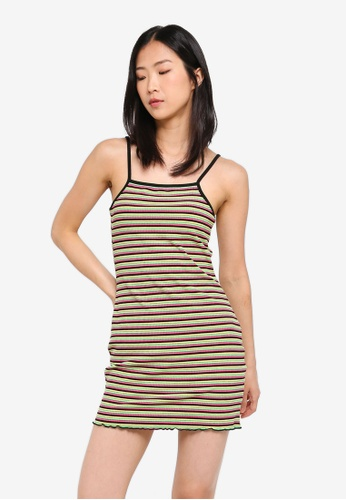 Factorie multi Strappy Ribbing Mini Dress CC7A9AADF0EE89GS_1