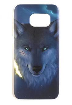 Samsung Galaxy S7 Wolf Design Hard Case