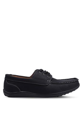Rocklander black Smart Casual Lace Up Shoes 5685ASHF49B052GS_1