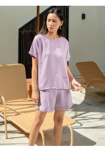 Sherello lilac purple Ruby Set in Lilac E9439AAE2E38F3GS_1