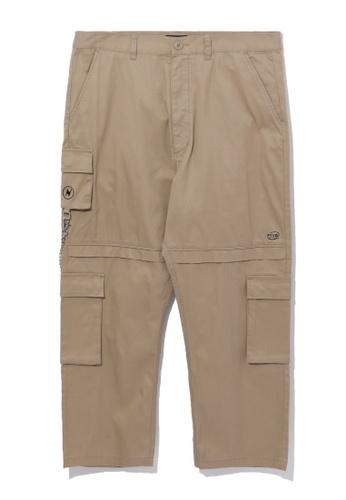 Fivecm beige Loose cargo pants 7FC86AAEBC8AA5GS_1