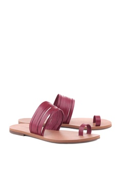 b1090c77b0d4b Anacapri Leather Flat Sandals RM 209.00. Available in several sizes