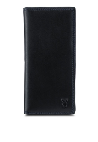 Playboy black Playboy RFID Blocking Long Wallet 039C1ACE77B5F5GS_1