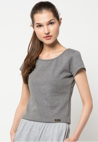 Gaff grey Sieana Crop Top GA640AA51LVSID_1