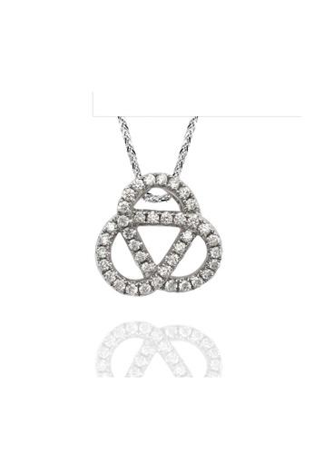 GOLDHEART Goldheart White Gold 375 (9K) Diamond Espoir Pendant (P5470) 289ECAC42E0FCEGS_1