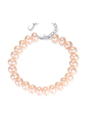 SUNRAIS silver Premium Color Stone Silver Simple Design Bracelet 7774FAC2E1F667GS_1