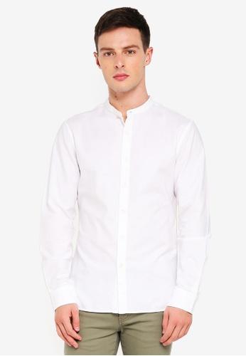 Banana Republic 白色 Oxford Shirt 10EECAA73AC6EBGS_1